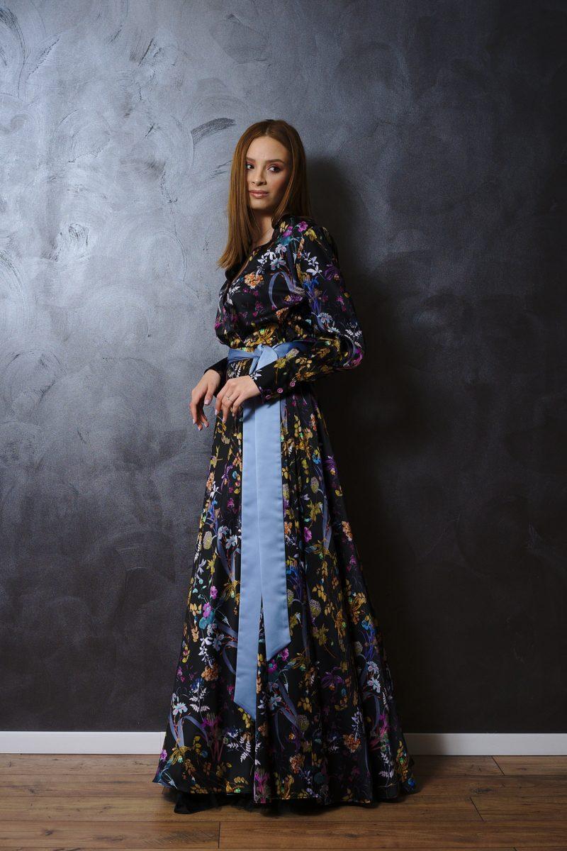Rochie din mătase naturală III